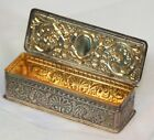 Sterling Silver With Gold Wash Snuff Box