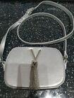 Valentino bag in silver new with out tags