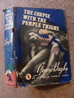 George Bagby THE CORPSE WITH THE PURPLE THIGHS 1st first edition 1939 old crime