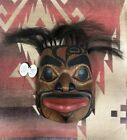 Vintage Tlingit, Wayne Price, Carved Cedar Mask, Alaska, Northwest Coast, 1970's