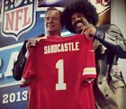 Kansas City Chiefs Authentic Nike NFL Leon Sandcastle Deion Sanders Jersey XL