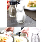 Moisture Proof Beehive Salt And Pepper Shakers  Black And White Hinged Flip