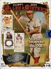 George W. Bush Autographs in 2011 Topps Allen & Ginter Baseball 9