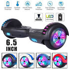 65 2 Wheels Electric Motorized Scooter Hoverboard Hoover Board LED Sidelights