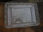 Vintage Clear Glass Hobnail w/ Scallop Edge 10