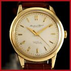 VINTAGE IWC INGENIEUR CAL 852 AUTO 1ST GENERATION  18K SOLID GOLD MENS WATCH