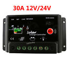 PWM 30A Solar Panel Battery Regulator Charge Intelligent Controller 12V 24V Home