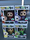 Funko POP! Limited Edition Set Of 4 Teletubbies #745, 746, 747 & 748