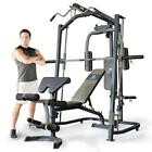 Marcy MP3100 Smith Machine Press Home Multi Gym with Adjustable Weight Bench