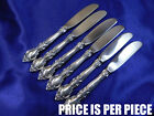 LUNT BELVEDERE STERLING SILVER BUTTER KNIFE - NEARLY NEW CONDITION