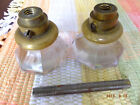 Antique Pair Of Clear Glass Door Knobs