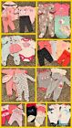 42 Piece Lot Of Baby Girl Clothes Newborn Nb 0 3 Months Winter Clothing Lot