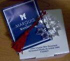 2004 Marquis Waterford Christmas Crystal Glass Star Ornament