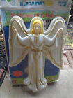 VTG EMPIRE CAROLINA Giant 33 Lighted Christmas ANGEL Blow Mold Nativity as is