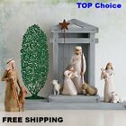 Nativity Scene Willow Tree hand painted sculpted figures Nativity 6 piece set