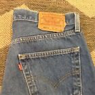 Levis 501 Jeans Mens Button Fly 34 X 31 Distressed pre loved