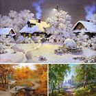 5D Diamond Embroidery Painting Landscape DIY Dream Craft Home Wall Decoration