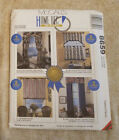 Unused 8659 McCalls Curtains Pattern Arch Cornice Cafes Roman Shade Drapes