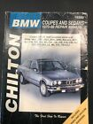 Chilton BMW Coupes and Sedans 1970-1988 Repair Manual 18300