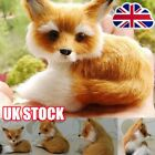Realistic Stuffed Animal Soft Plush Kids Toy Sitting Fox Reynard 97 8cm RW