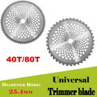 10 Inch 40T 80T Teeth 254mm Carbide Tip Blade For Brush Cutter Trimmer US