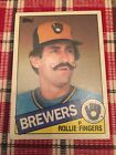 Top 10 Rollie Fingers Baseball Cards 23
