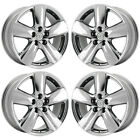 19 LEXUS LS460 LS600 PVD CHROME WHEELS RIMS FACTORY OEM SET 74196 EXCHANGE