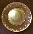 Vintage Fire King Oven Ware Iridescent Peach Lustre Plate Minor Scratches
