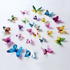 Beautiful 3D Butterfly Wall Stickers Glow In The Dark Luminous Wall Decals New