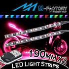 For BMW Motorcycles 2x 190mm RGB Under Frame Engine LED Lighting Strip