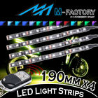 For Hyosung Motorcycles 4x 190mm RGB Under Frame Engine LED Lighting Strip