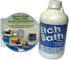 Glass Etch Dipping Solution 16 oz Etch Bath + Free How to Etch CD