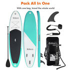 Inflatable Stand Up Paddle Board W Free Premium SUP Accessories Backpack 2 SET