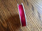 Stampin Up Real Red 3 8 Mixed Satin Ribbon Retired Preowned