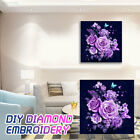 43F6 Cross Stitch Wall Decor DIY Craft Home Rose 5D Full Drill Decorate Gift