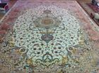 Silk and Wool with silk foundation Supper Fine Rug