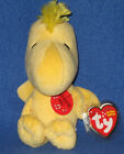 TY WOODSTOCK the BIRD BEANIE BABY - NEW - MINT with MINT TAG - NO SOUND!