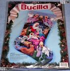 Bucilla NATIVITY Stocking Needlepoint Christmas Kit MangerAngelAnimals 60712