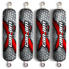 Red X CanAm Team Shock Covers Bombardier Renegade Outlander 400 500 650 800 1000