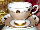Crown Border Gold Teacup pattern D1848