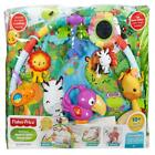 Fisher Price Rainforest Gym Baby Play Mat with Music And Lights Suitable Birth +