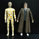 LOT of 2 Doctor Who GOLD HUMANOID AXON THE CLAWS OF AXOS the TENTH 10th DOCTOR