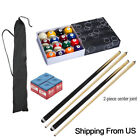 Complete Ball Sets of 57  Snooker Pool Billiards Cues Sticks