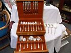 66 Piece 1847 Rogers Bros IS Adoration Service for 8 Silverplate Flatware Set