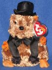 TY PUNXSUTAWNEY PHIL 2007 GROUNDHOG BEANIE BABY - MINT with MINT TAG