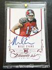 MIKE EVANS 2014 Flawless Red Ruby ROOKIE On Card AUTOGRAPH # 15 SSP AUTO RC