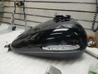 Black Gas Tank Harley Touring Ultra LImited Road Street Glide FLHX 2008^ Emblems