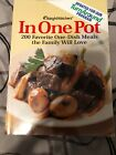 Weight Watchers In One Pot Cookbook 200 One Dish Meals Softcover Illustrated