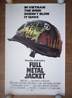 Original 1987 Full Metal Jacket US Movie 27x41 Poster 1 sheet Stanley Kubrick