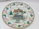 Fire King Oven Ware Made in USA Hand Painted Milk Glass Collectible Plate